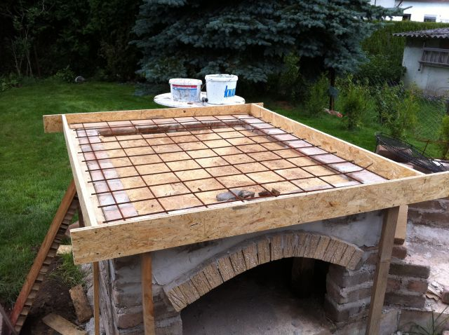 neues projekt outdoork che mit steinbackofen seite 6 grillforum und bbq www. Black Bedroom Furniture Sets. Home Design Ideas