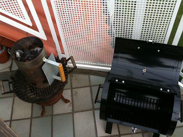 balkon spa grill barbecue grill smoker von mendler grillforum und bbq. Black Bedroom Furniture Sets. Home Design Ideas