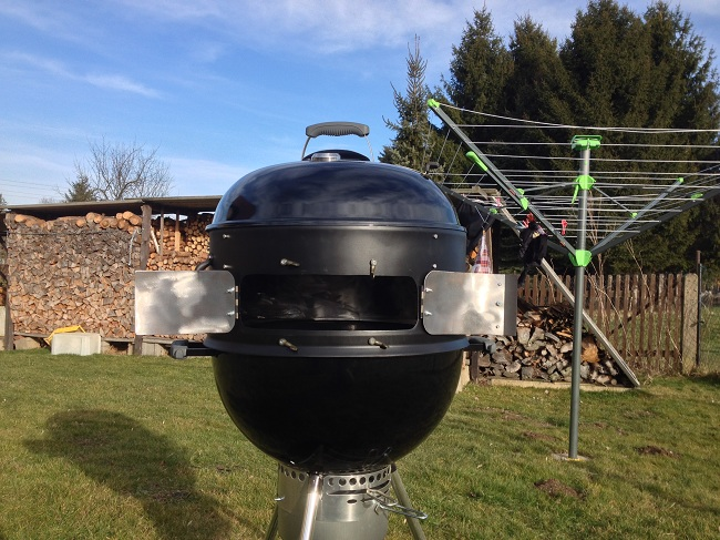 Weber Holzkohlegrill Räuchern : Weber smokey mountain richtig verwenden aufgetischt