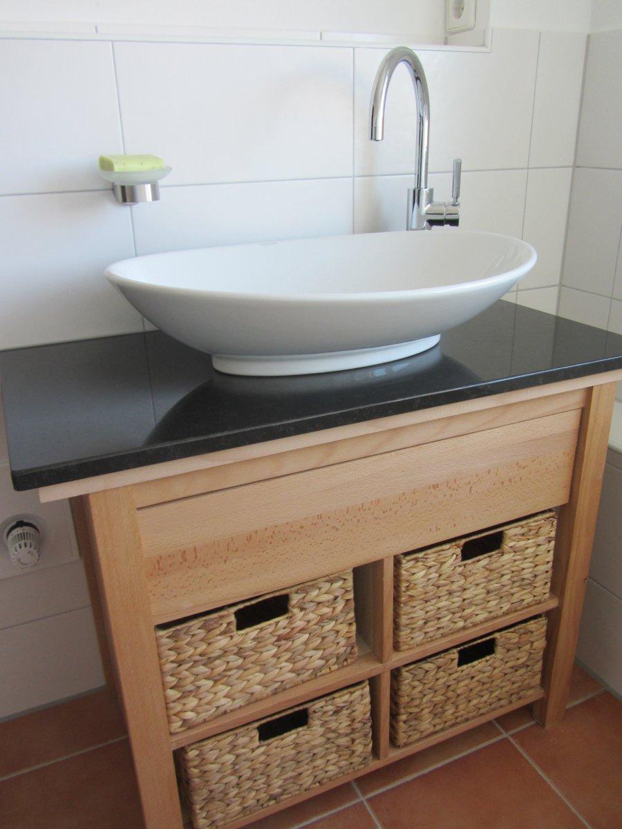 Doppelwaschbecken ikea  Waschtisch Doppelwaschbecken: Shopthewall bad waschtisch in wei ...