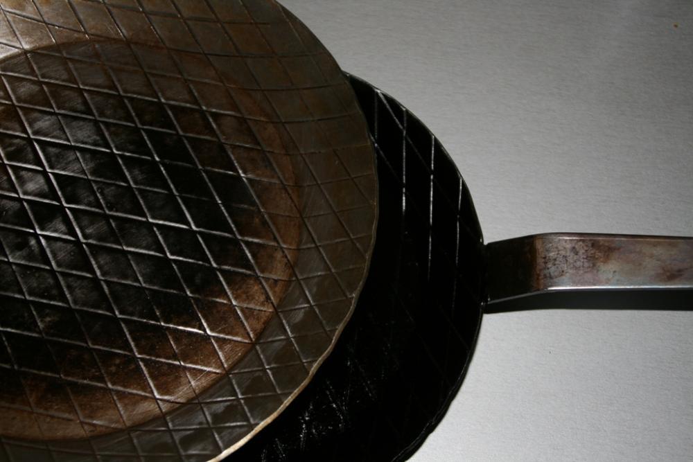Pfanne einbrennen Anleitung  Grillforum und BBQ  www