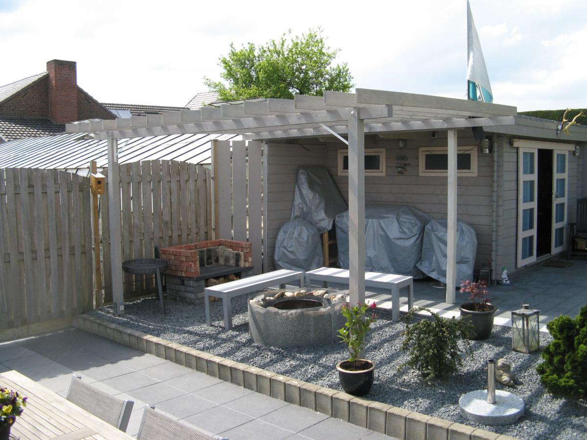berdachung grillterrasse grillforum und bbq. Black Bedroom Furniture Sets. Home Design Ideas