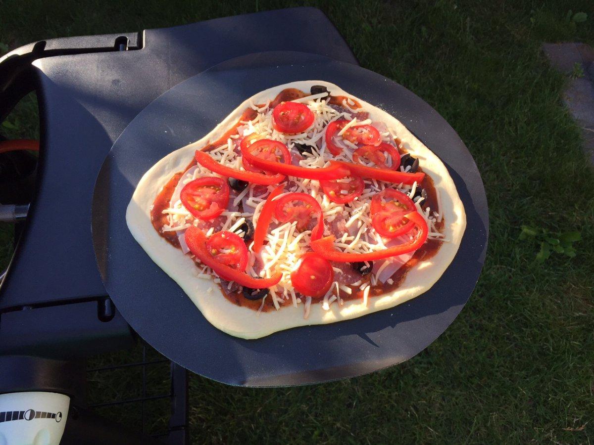 Pizzastein Für Elektrogrill Weber : Pizzastein für weber q grillforum und bbq