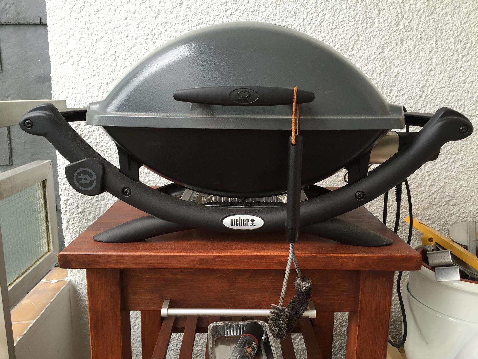 Weber Elektrogrill Q 2400 : Verkauft original weber q elektrogrill grillforum und