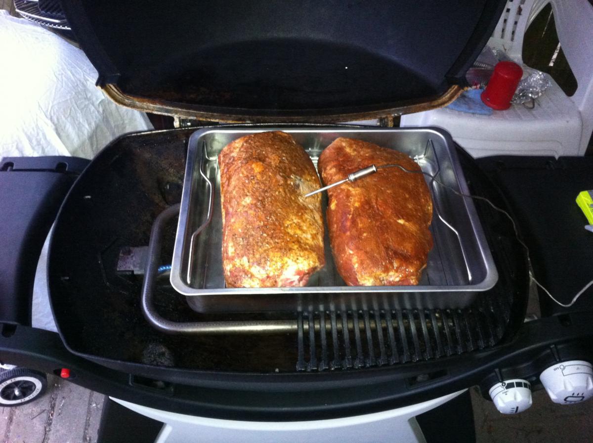 Pulled Pork Weber Gasgrill Rezept : Ppp pulled pork premiere auf dem q300 grillforum und bbq www