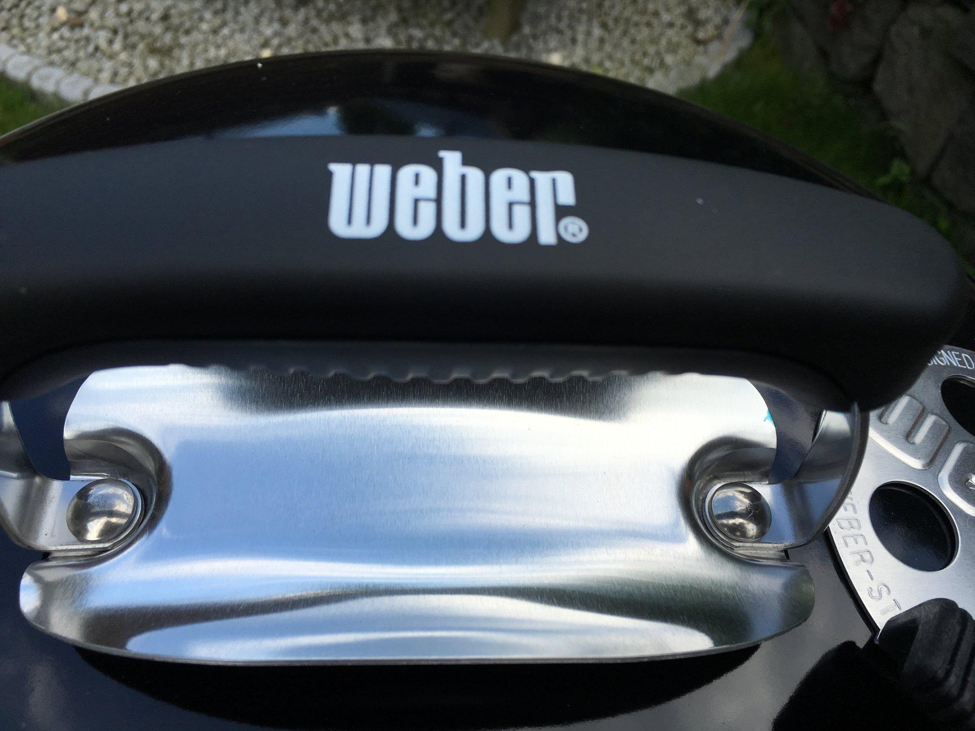 Weber Grill Holzkohlegrill Performer Deluxe Gbs Gourmet : Erledigt weber performer deluxe gbs gourmet holzkohlegrill