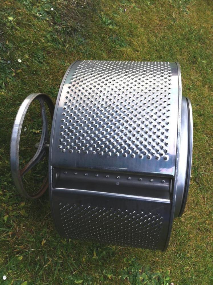 waschmaschinentrommel abzugeben grillforum und bbq. Black Bedroom Furniture Sets. Home Design Ideas