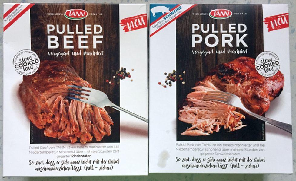 Fertig Pulled Pork Gasgrill : Test von vorgegartem pulled pork beef aus dem supermarkt