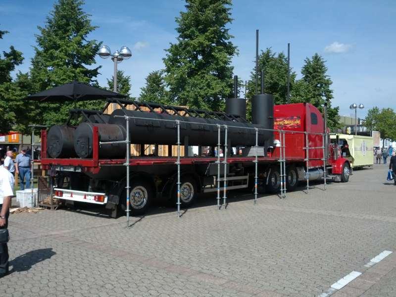 Smoker Truck Grillforum Und Bbq Www Grillsportverein De