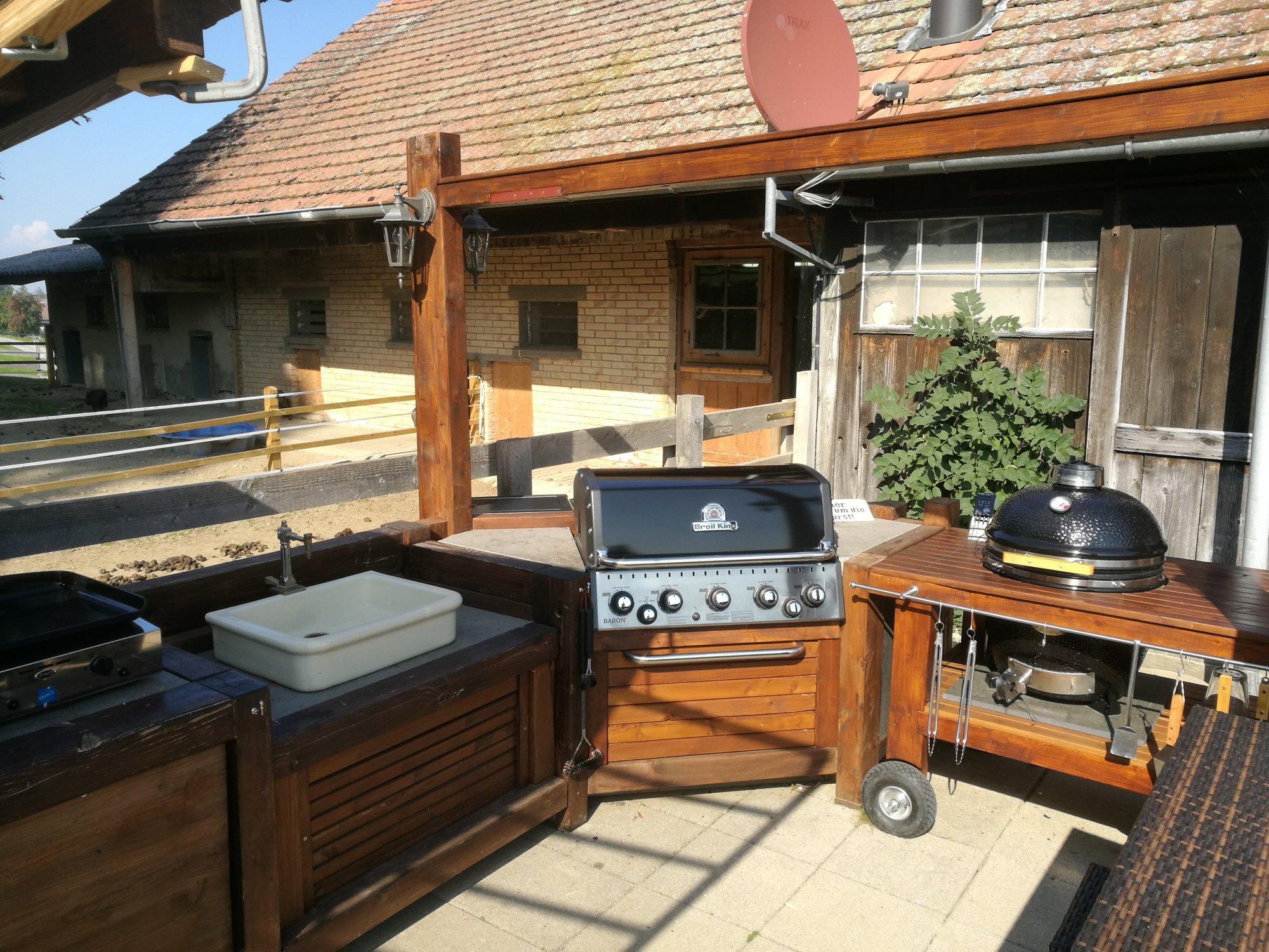 Outdoorküche Klappbar Forum : Outdoorküche für draussen ein provisorisches provisorium seite 7