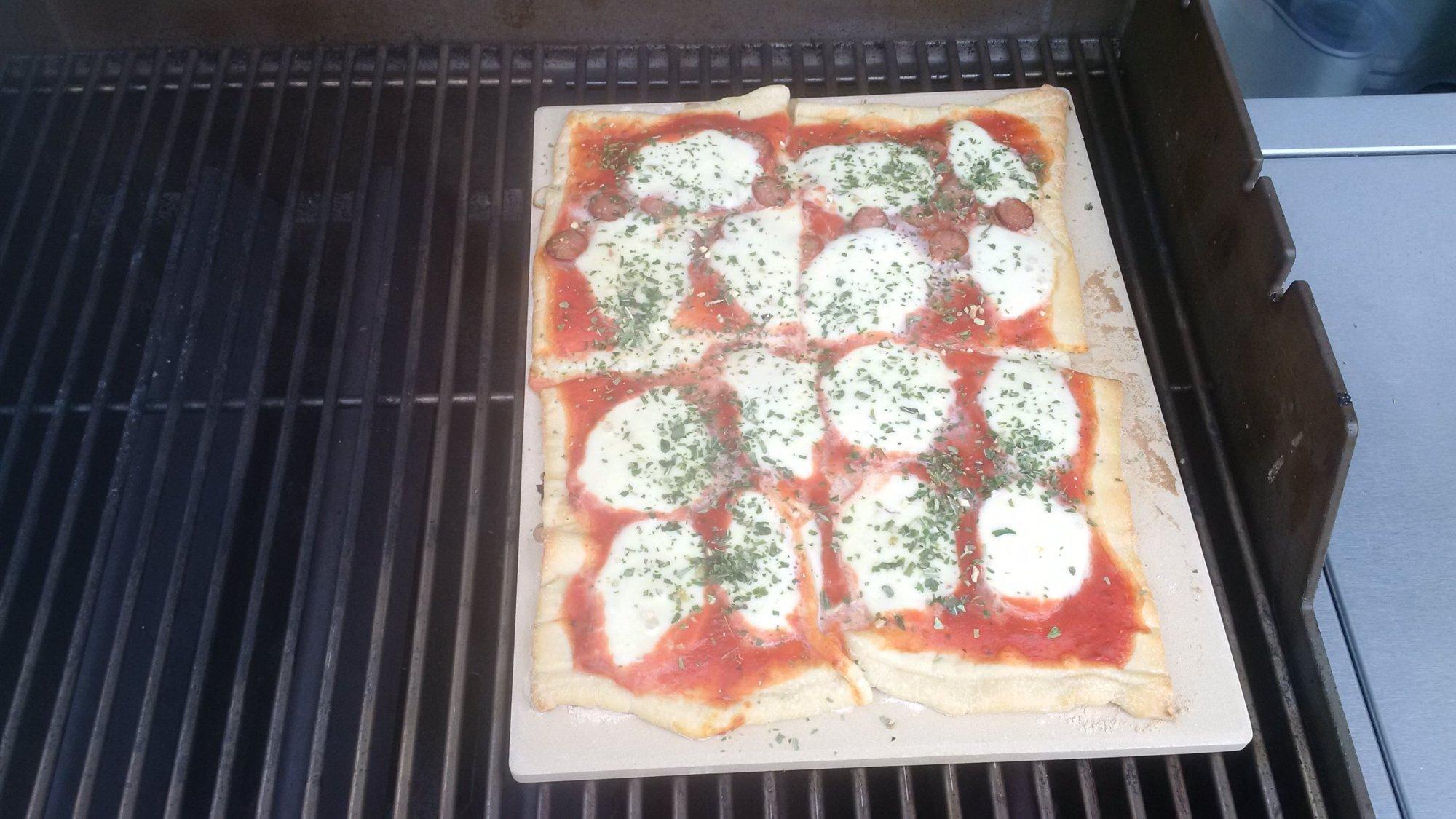 Pizzastein Für Gasgrill Landmann : Pizza ohne pizzastein check