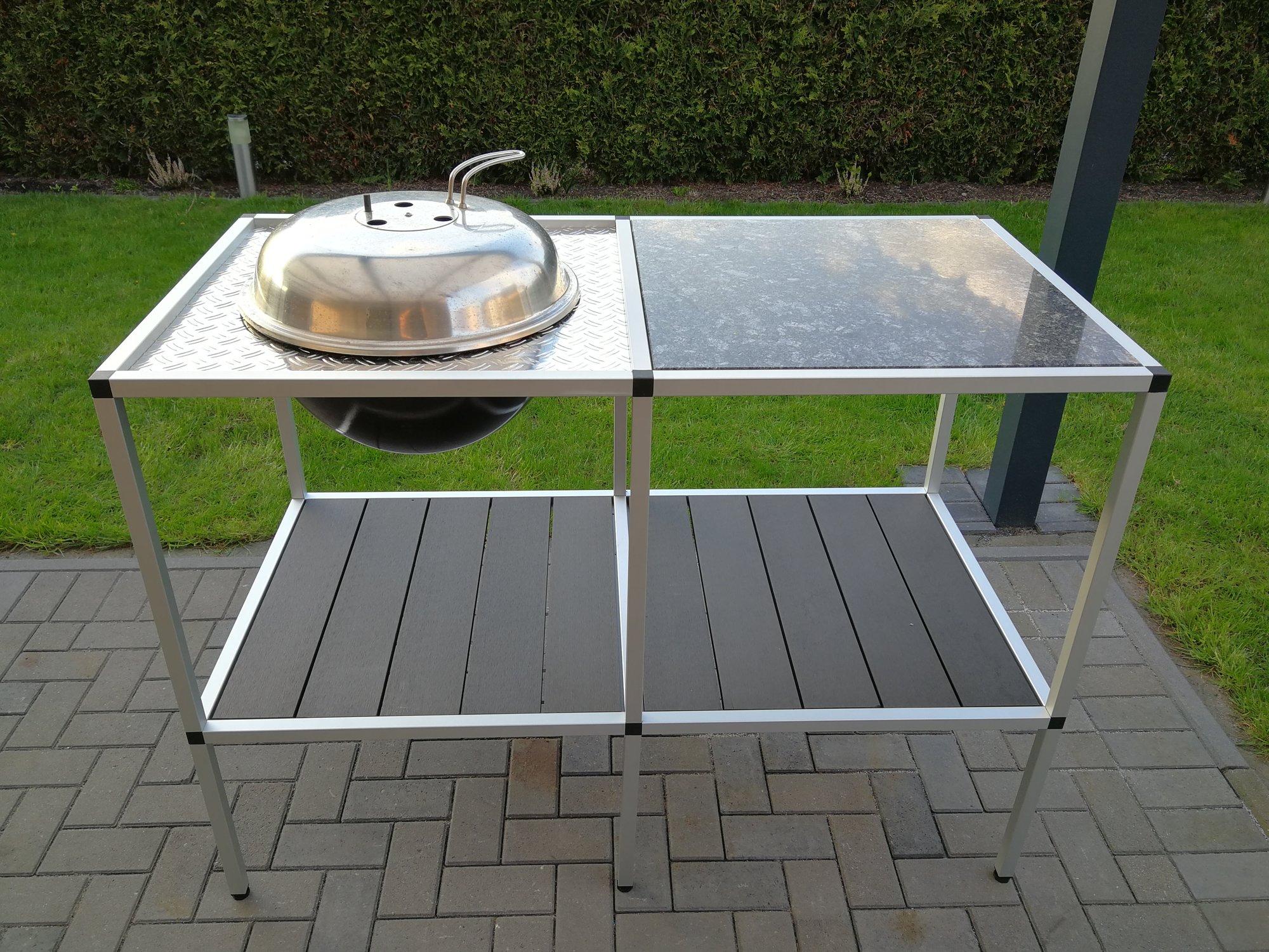 Outdoor Küche Dancook : Outdoorküche dancook mit alustecksystem grillforum und bbq