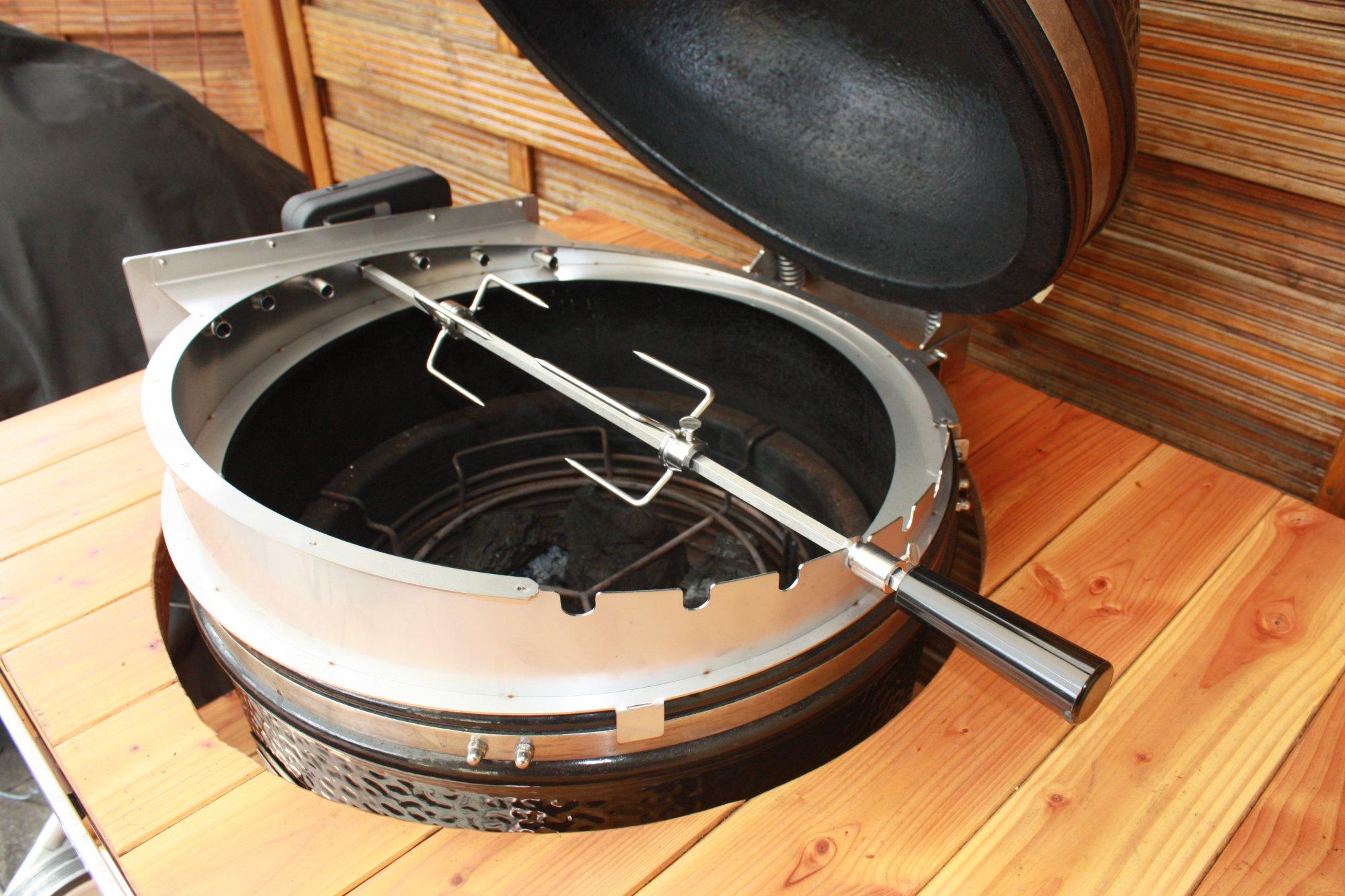 monolith rotisserie drehspie erfahrungen tests rezepte etc grillforum und bbq www. Black Bedroom Furniture Sets. Home Design Ideas