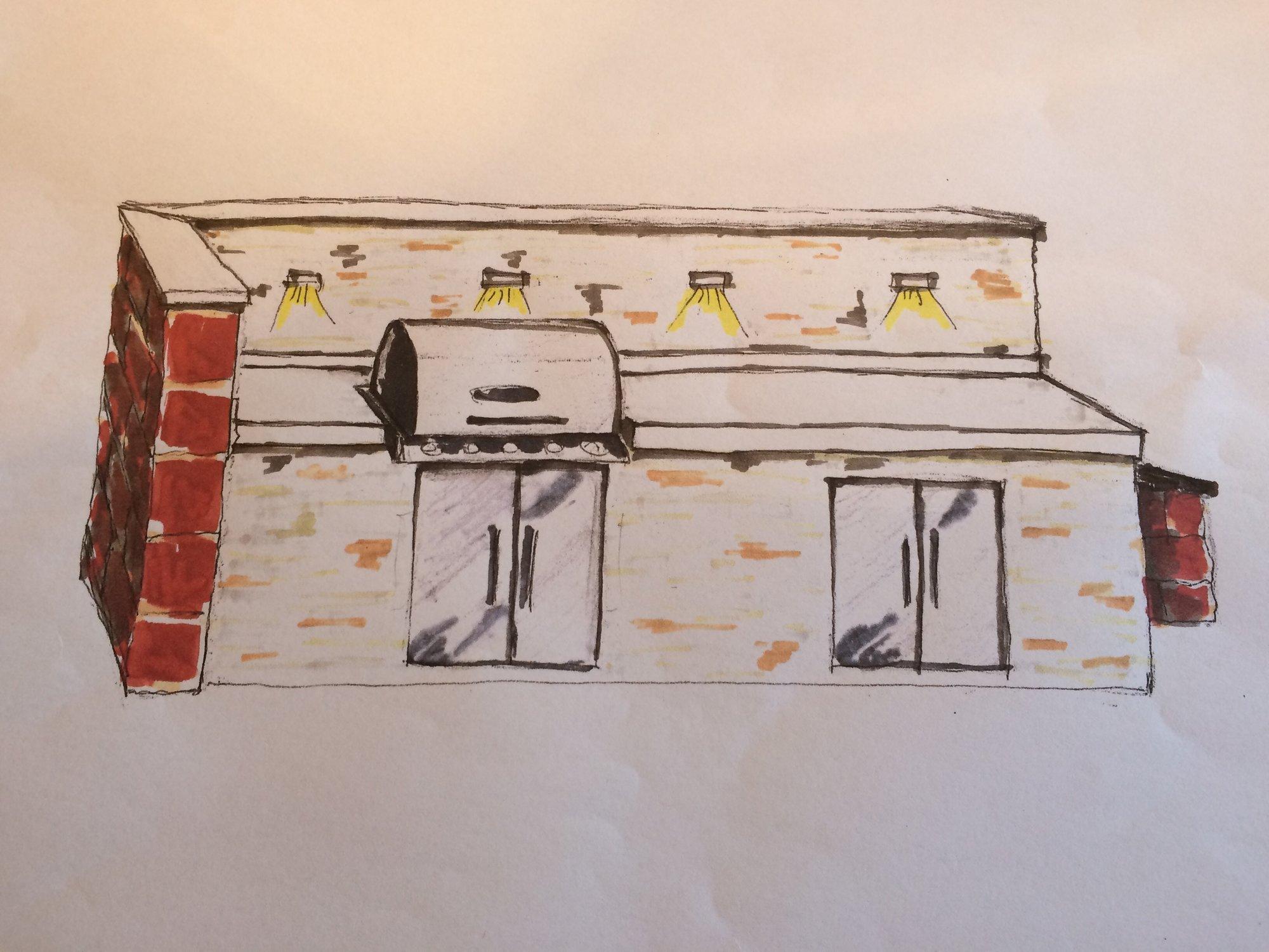 Outdoor Küche Steinmauer : Outdoorküche napoleon bipro grillforum und bbq
