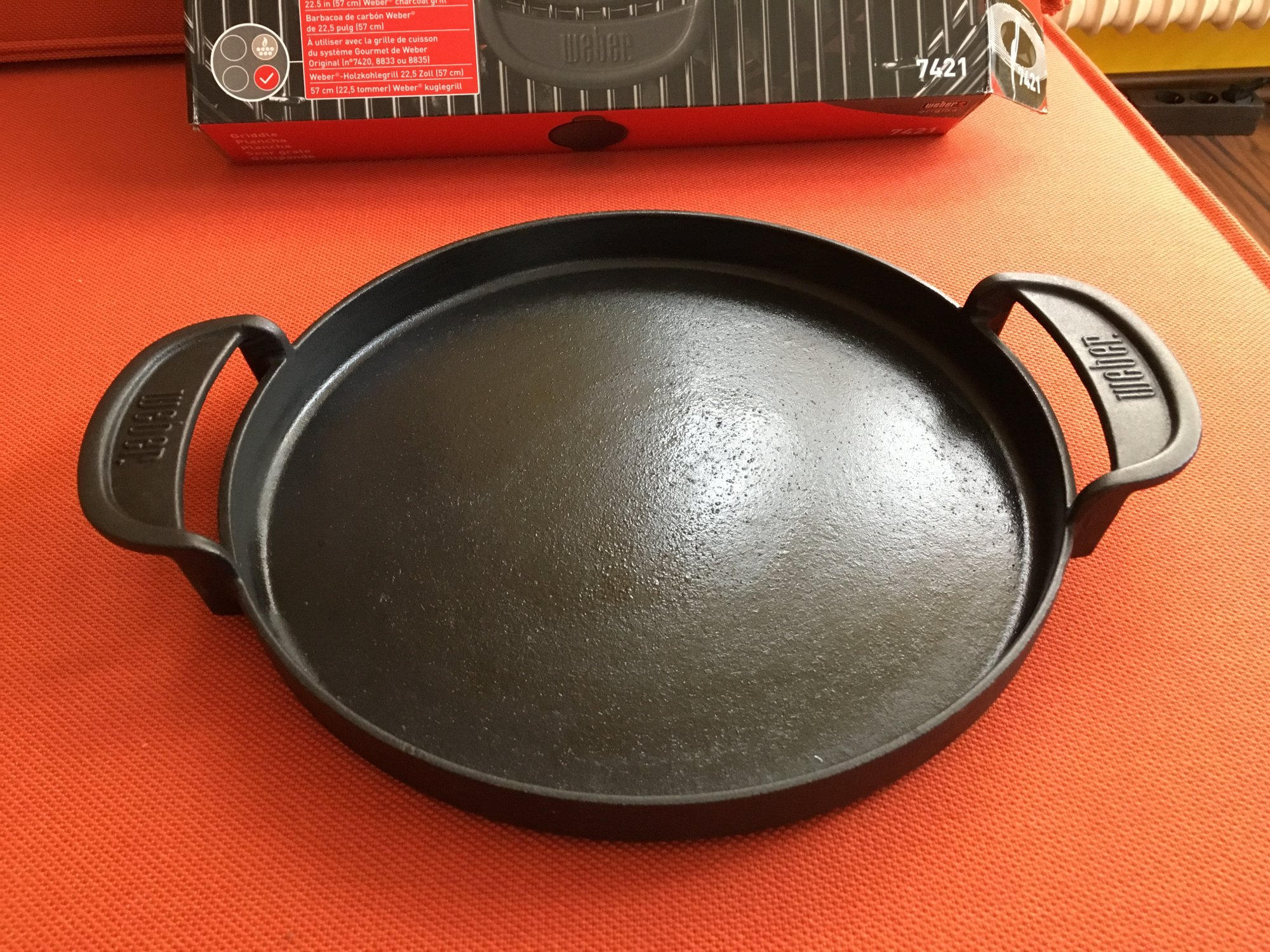 Weber Holzkohlegrill Idealo : Verkaufe weber grill pfanne gbs system grillforum