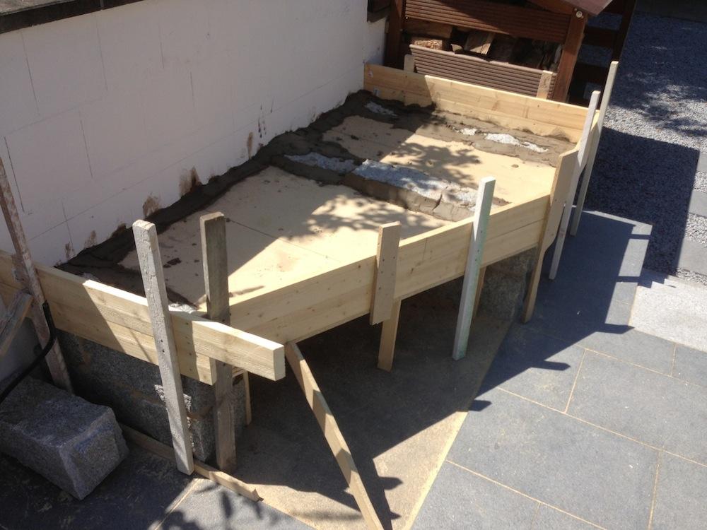 das nach garten fertig projekt oder ich will einen aussenkamin grillforum und bbq www. Black Bedroom Furniture Sets. Home Design Ideas