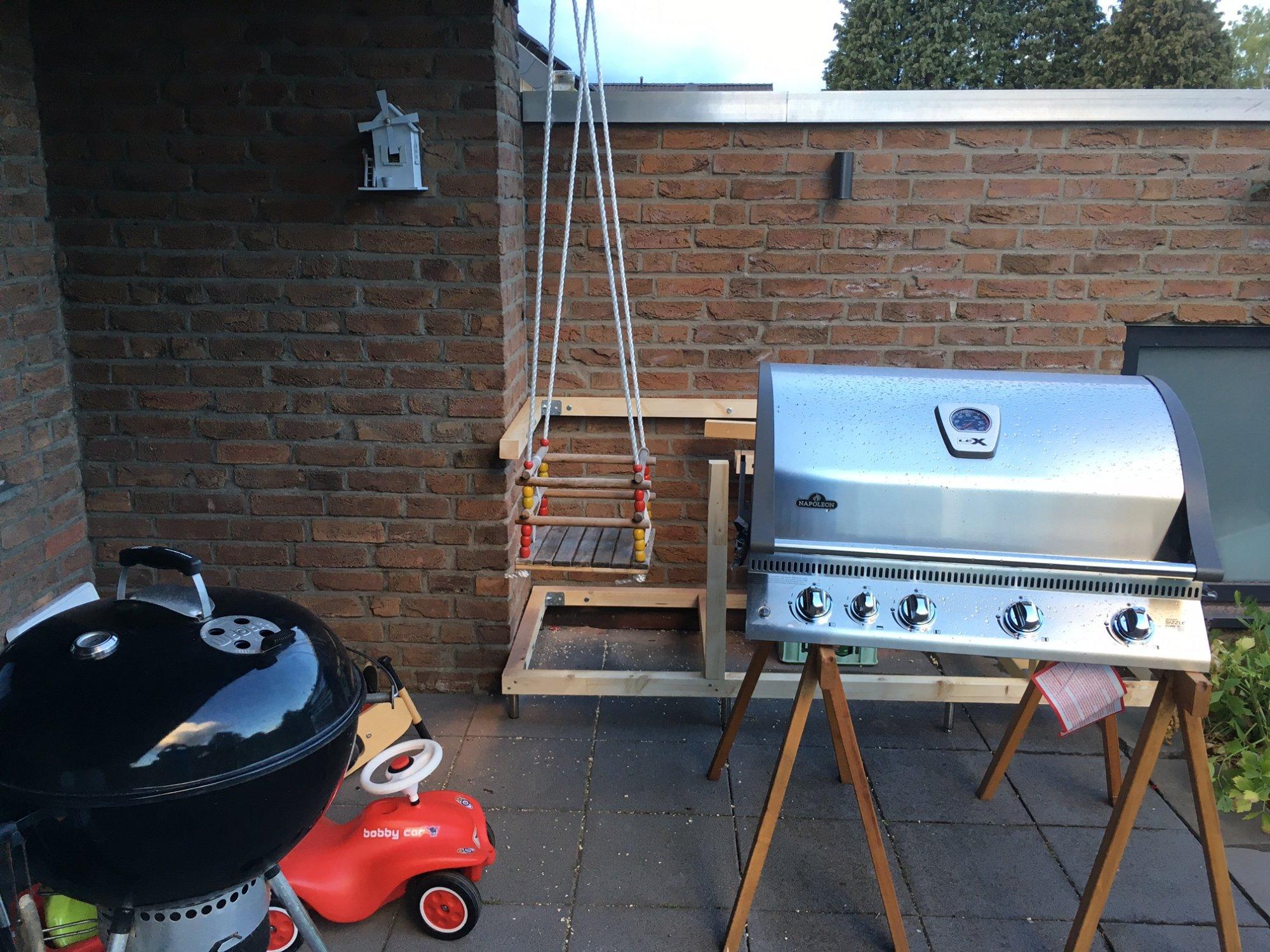 Outdoor Küche Kugelgrill : Hängende outdoor küche grillforum und bbq www.grillsportverein.de