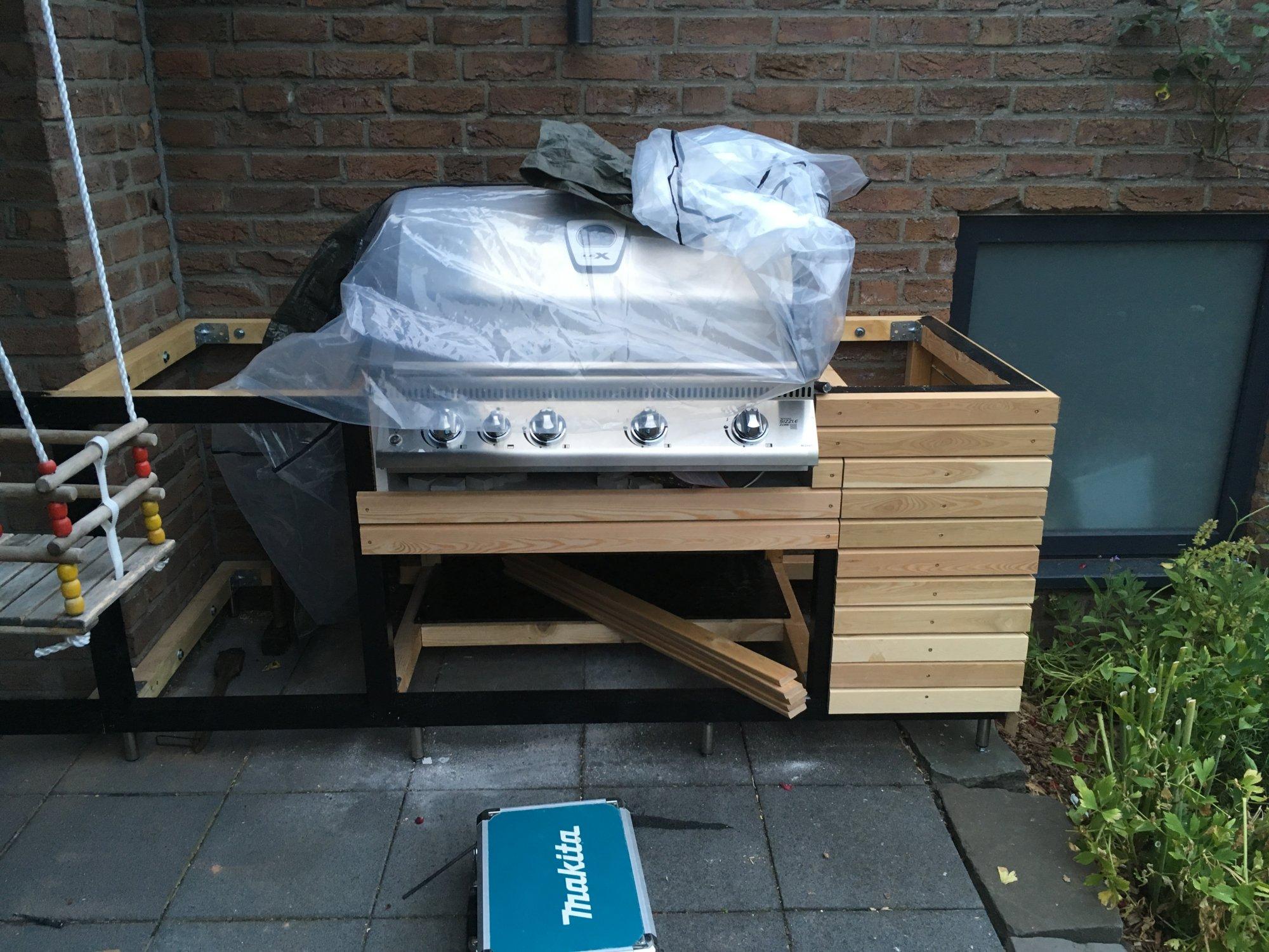 Outdoor Küchen Holz : Hängende outdoor küche grillforum und bbq grillsportverein