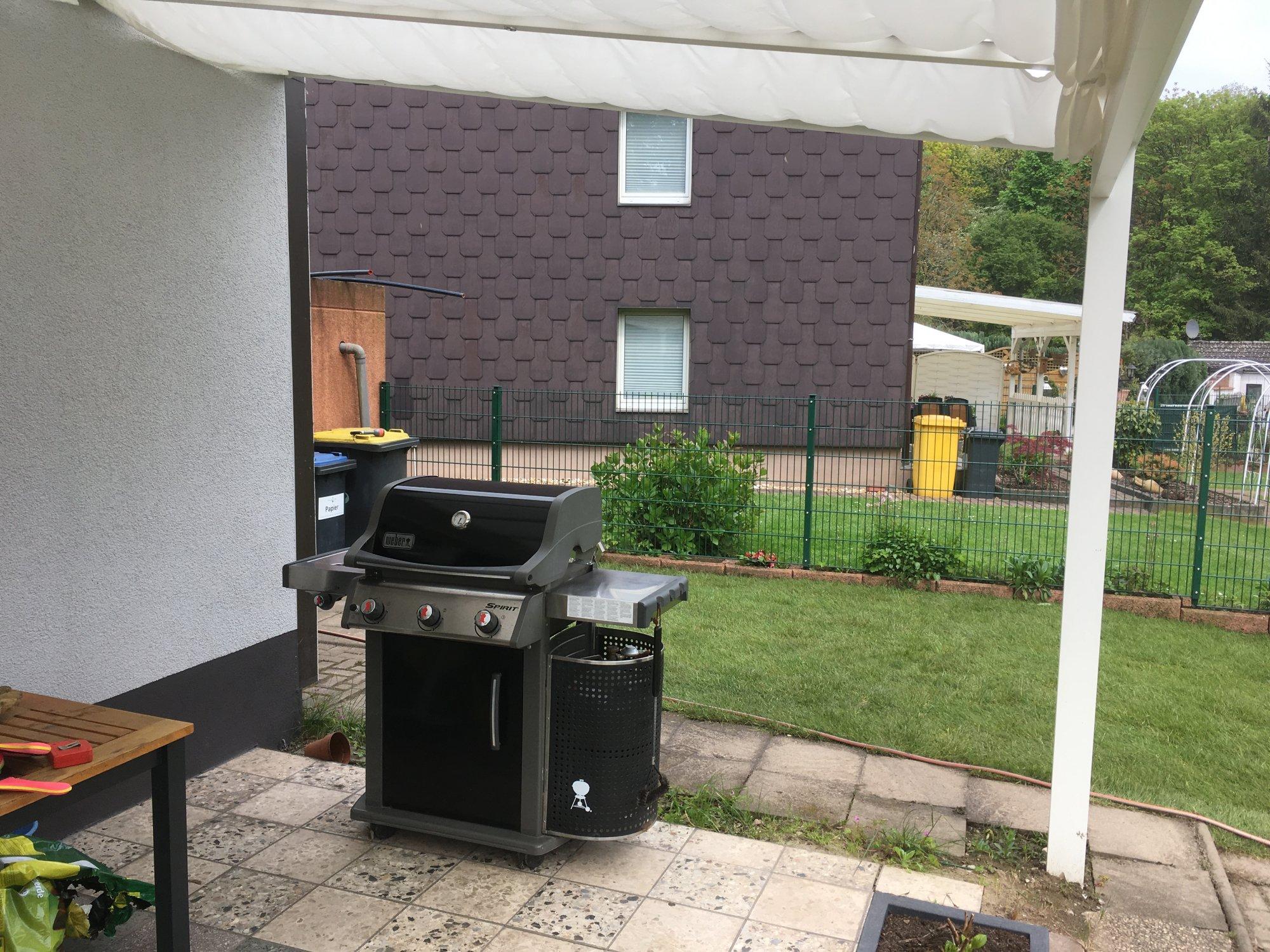 Gasgrill In Outdoor Küche Integrieren : Outdoorküche mit weber spirit e 320 grillforum und bbq www