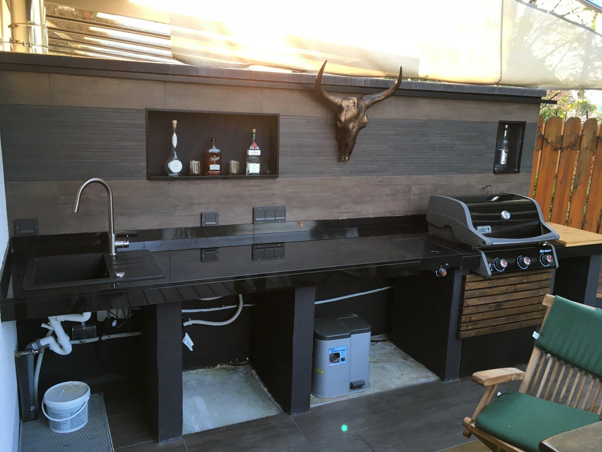 Außenküche Selber Bauen Grillsportverein : Bau einer außenküche mit napoleon prestige grillforum und