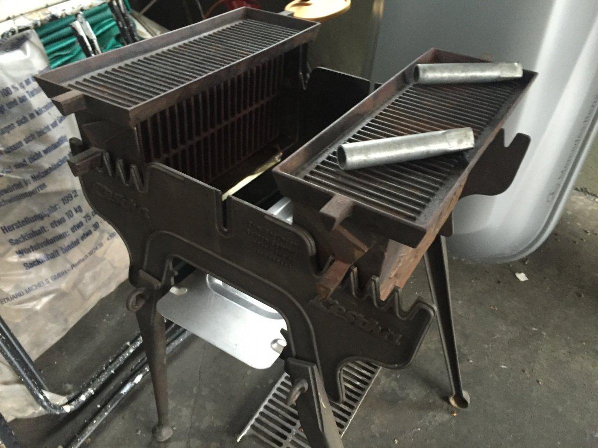 frage zu altem gussgrill lescha grillforum und bbq. Black Bedroom Furniture Sets. Home Design Ideas