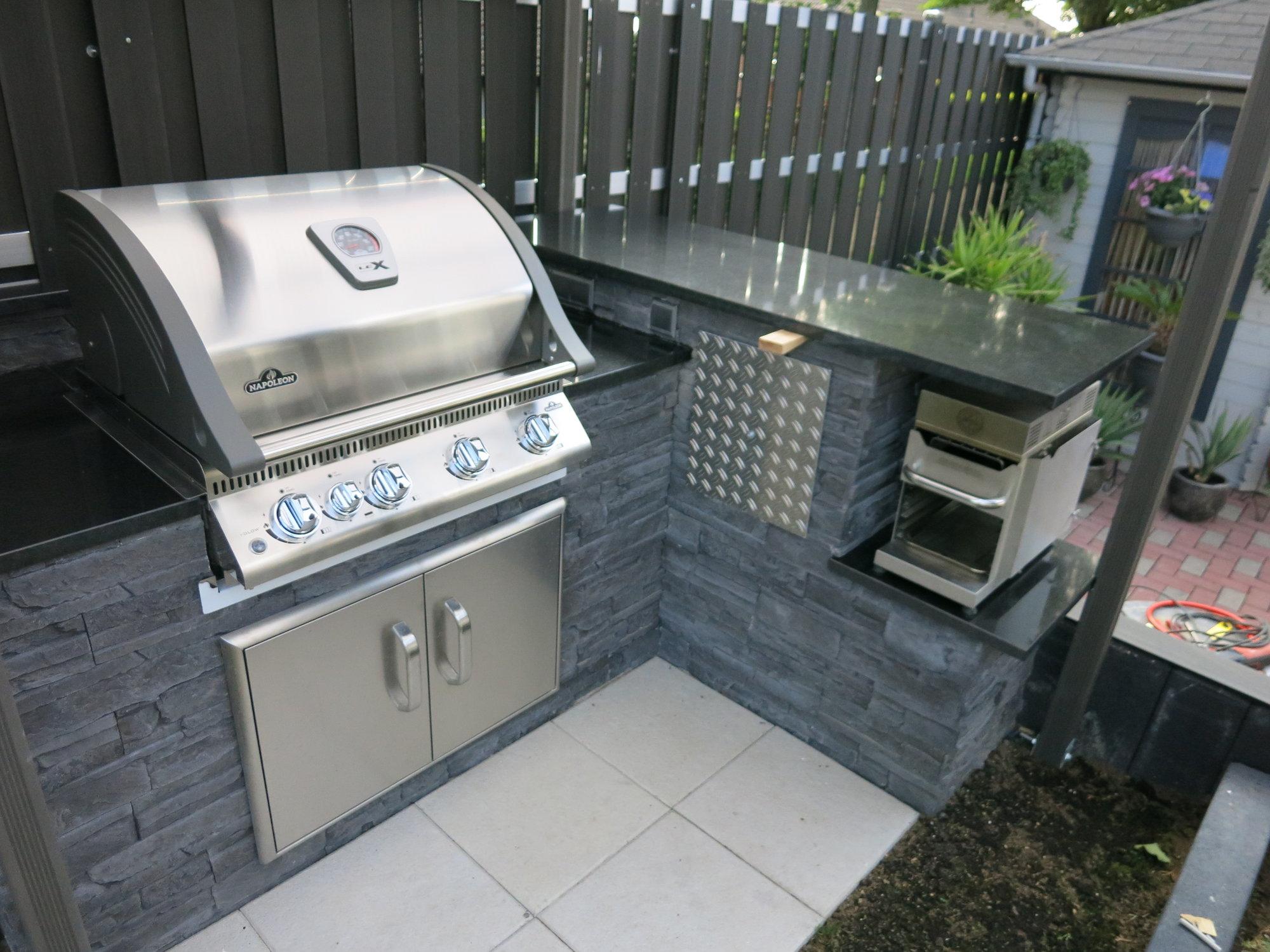 Doppeltür für Outdoor Küche Landmann oder Napoleon?  Grillforum