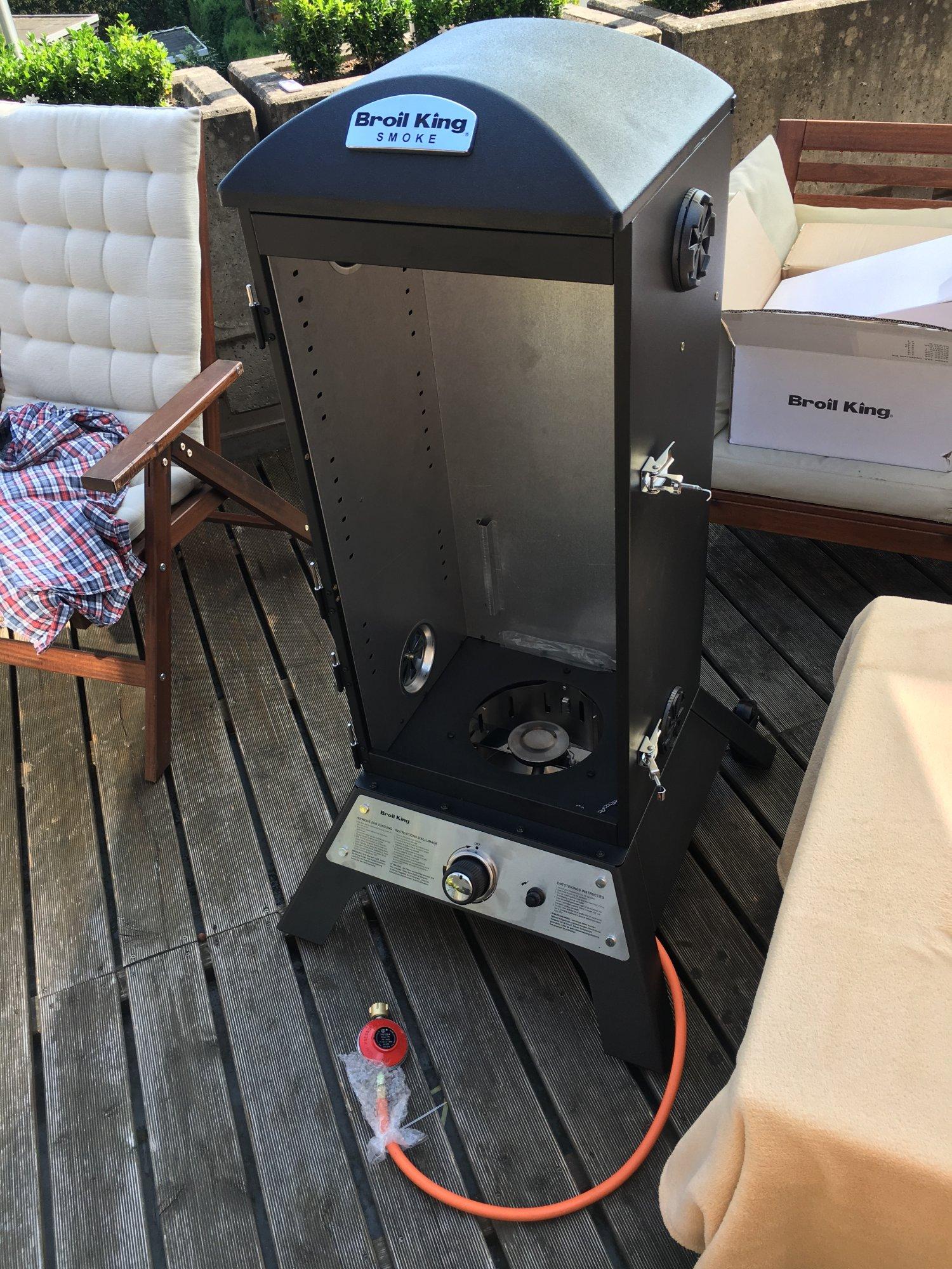 broil king vertikal gas smoker seite 15 grillforum und bbq. Black Bedroom Furniture Sets. Home Design Ideas