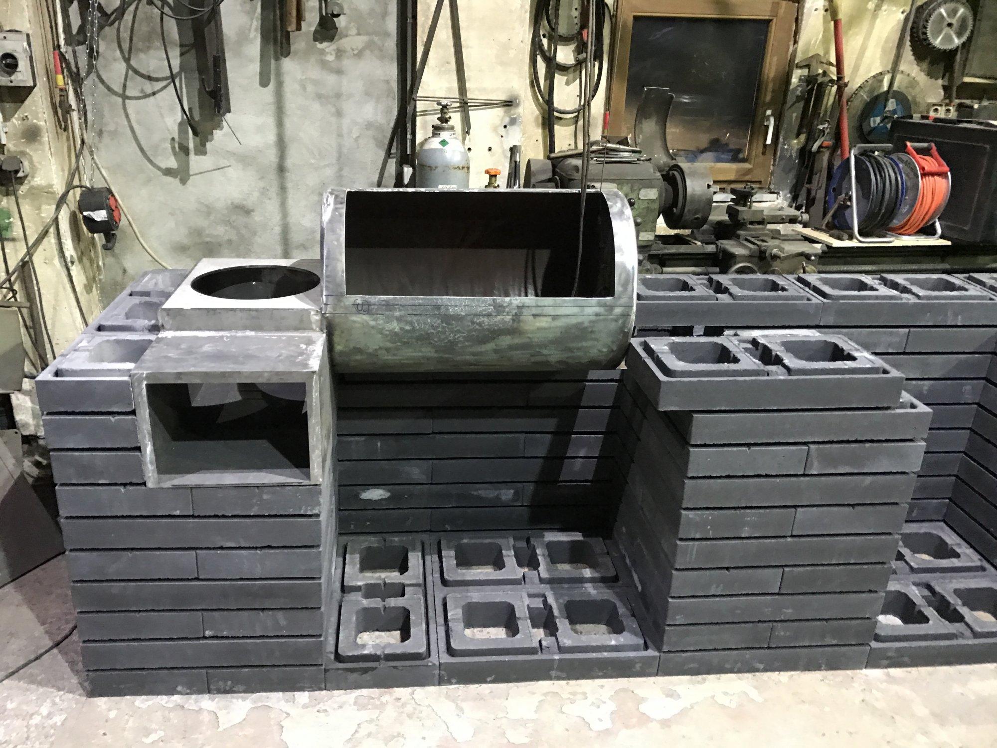 Outdoorküche Stein Xl : Rohbau outdoorküche grillforum und bbq grillsportverein