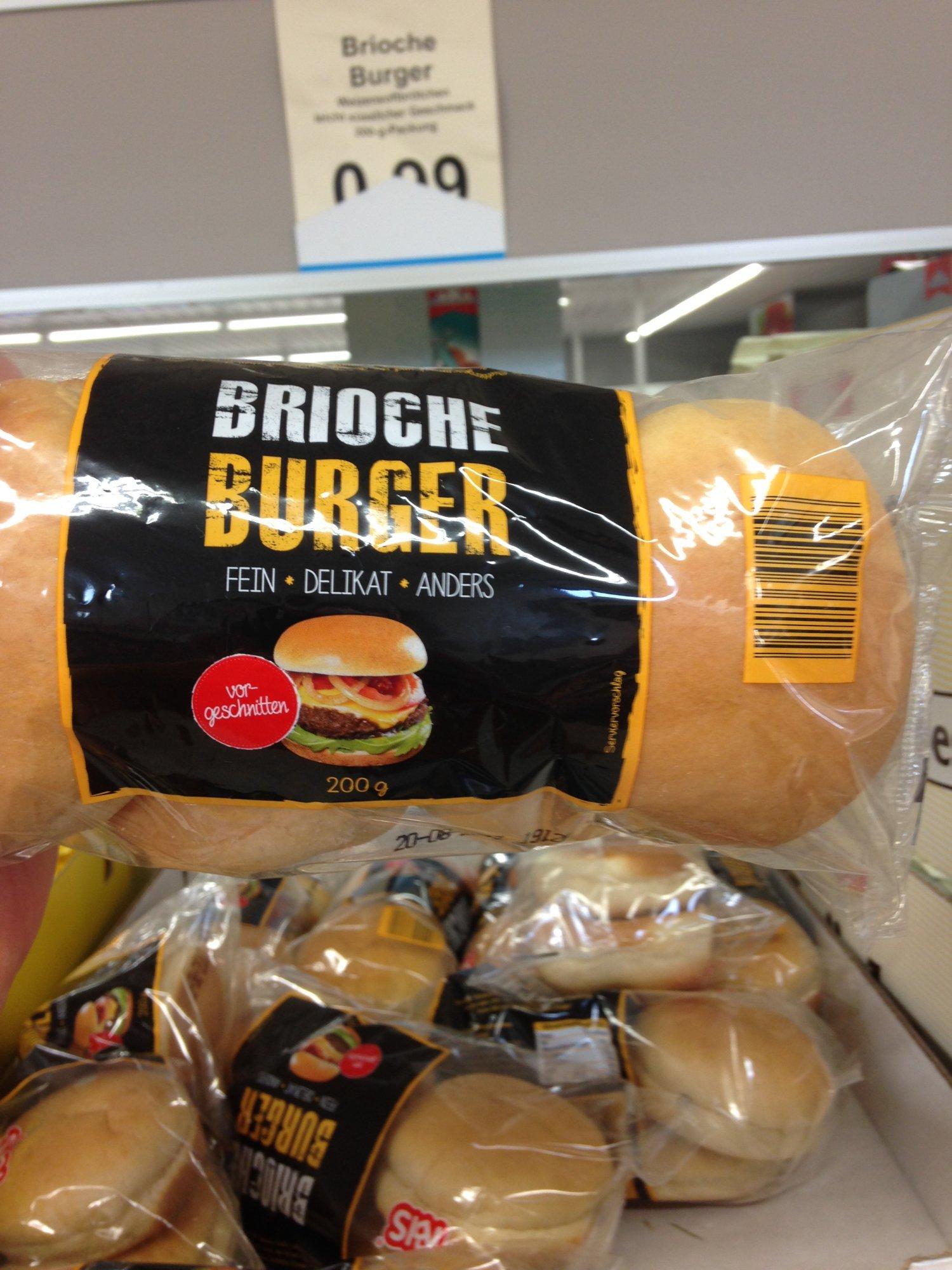 Brioche Burger Buns Kaufen