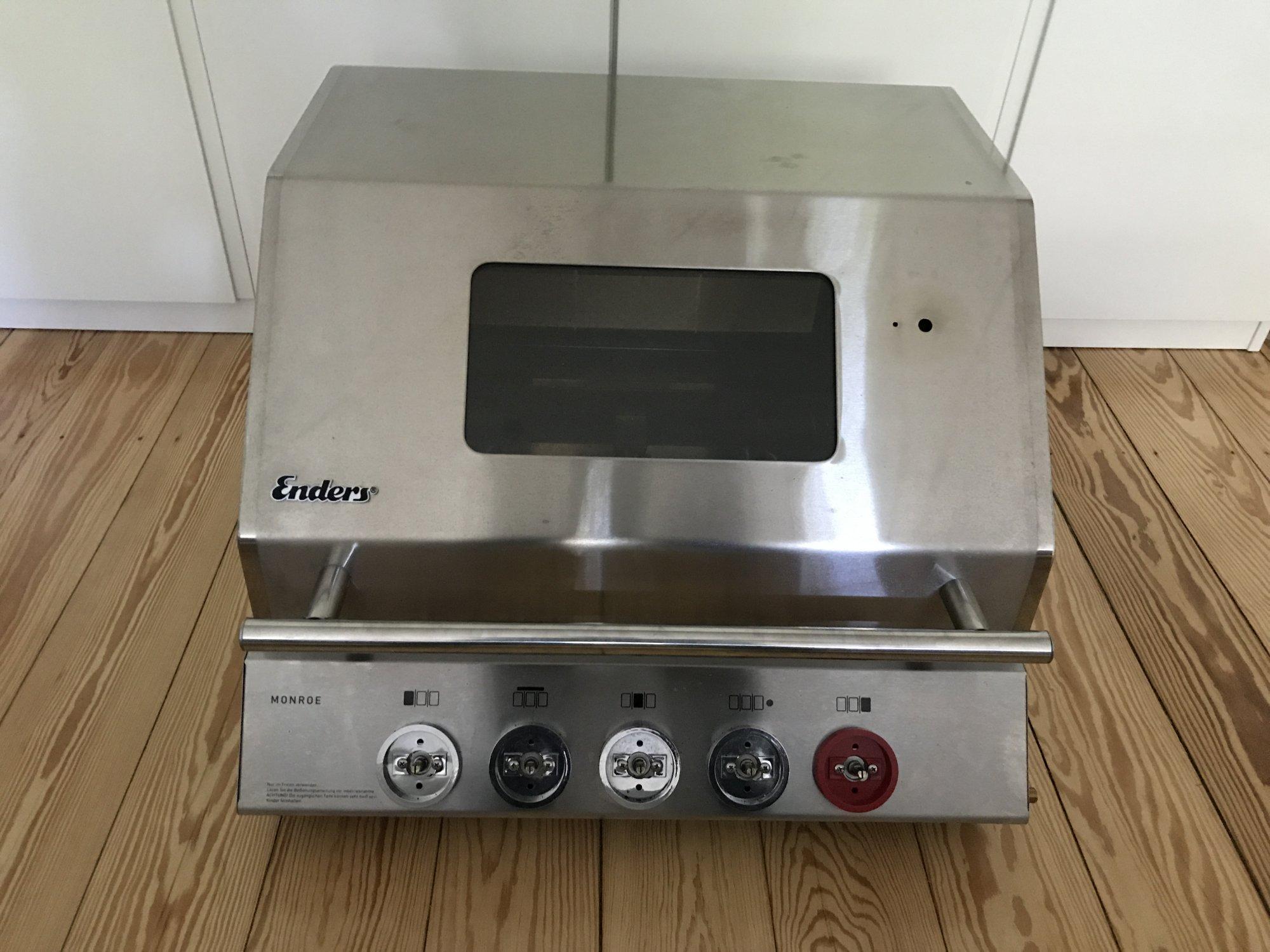 verkauft enders monroe 3 sik turbo grillbox 1x benutzt grillforum und bbq www. Black Bedroom Furniture Sets. Home Design Ideas