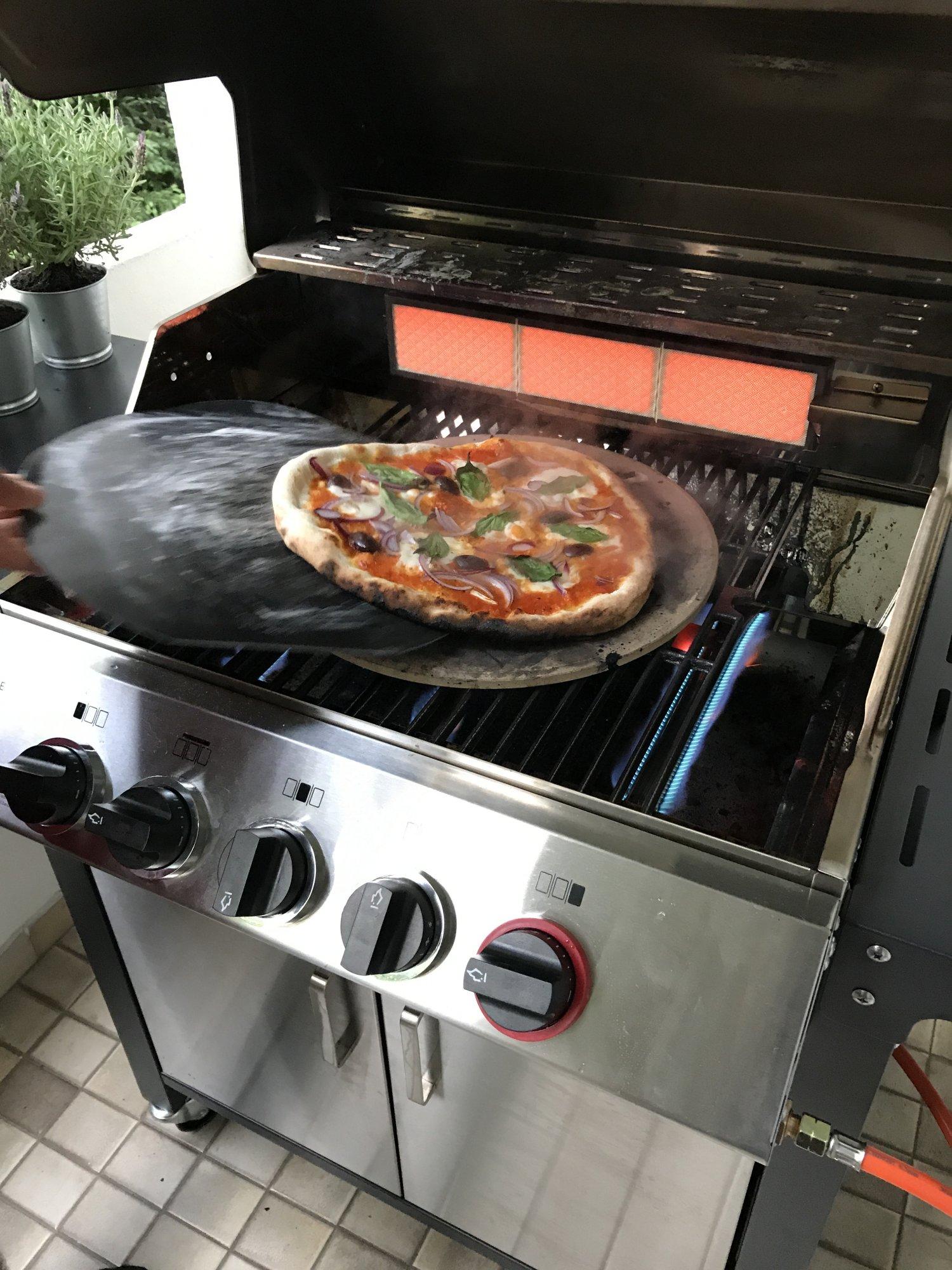 enders monroe 3 sik turbo erste pizza grillforum und bbq. Black Bedroom Furniture Sets. Home Design Ideas