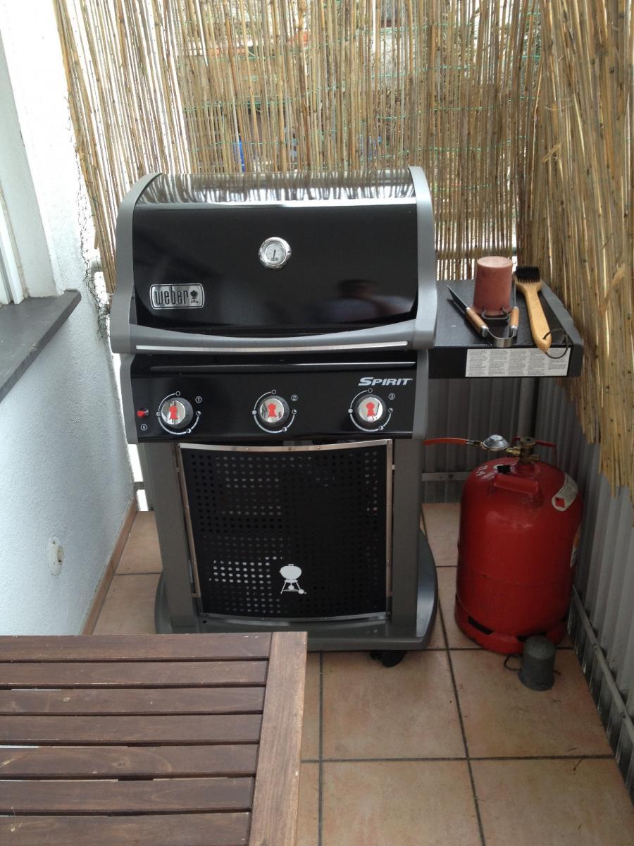 aufbau und einweihung meines spirit e 310 grillforum und bbq. Black Bedroom Furniture Sets. Home Design Ideas