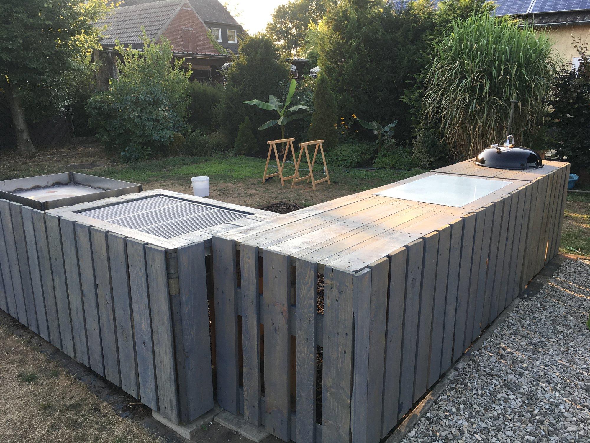 Außenküche Mit Paletten : Aussenküche aus paletten projekt frühjahr 2018seite 3 grillforum