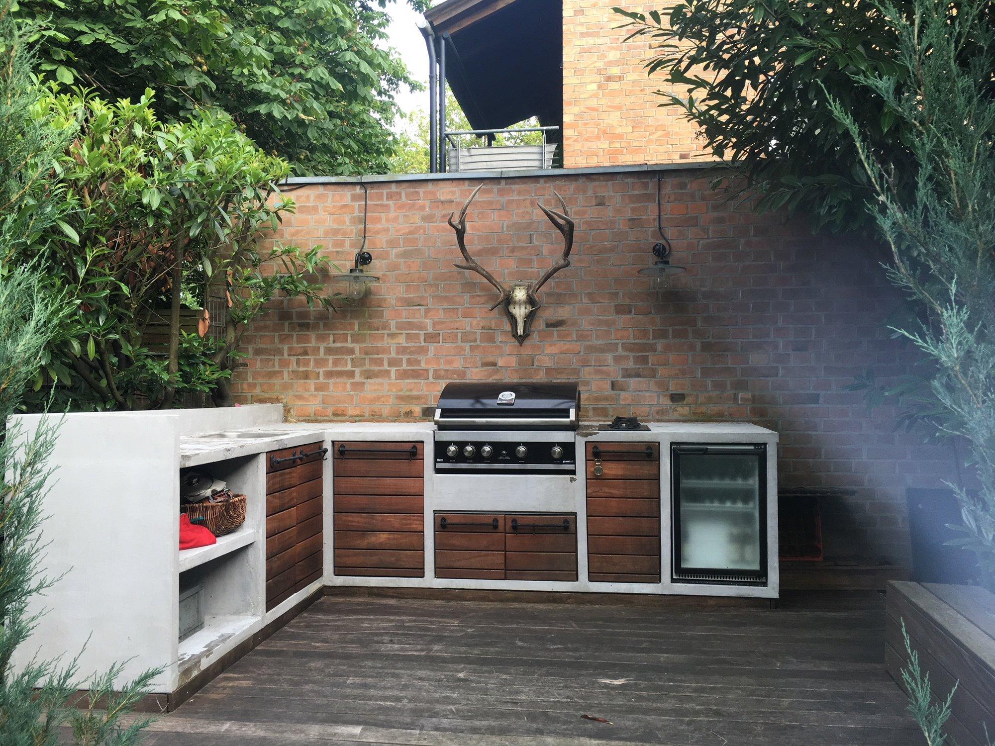 Außenküche Mit überdachung : Sanierung außenküche grillforum und bbq grillsportverein