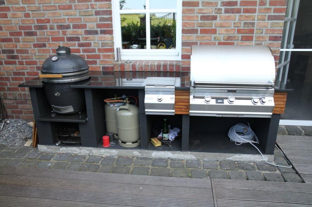 Außenküche Mit Gasgrill : Außenküche gasgrill: gartenküche selber bauen: anleitung und tipps