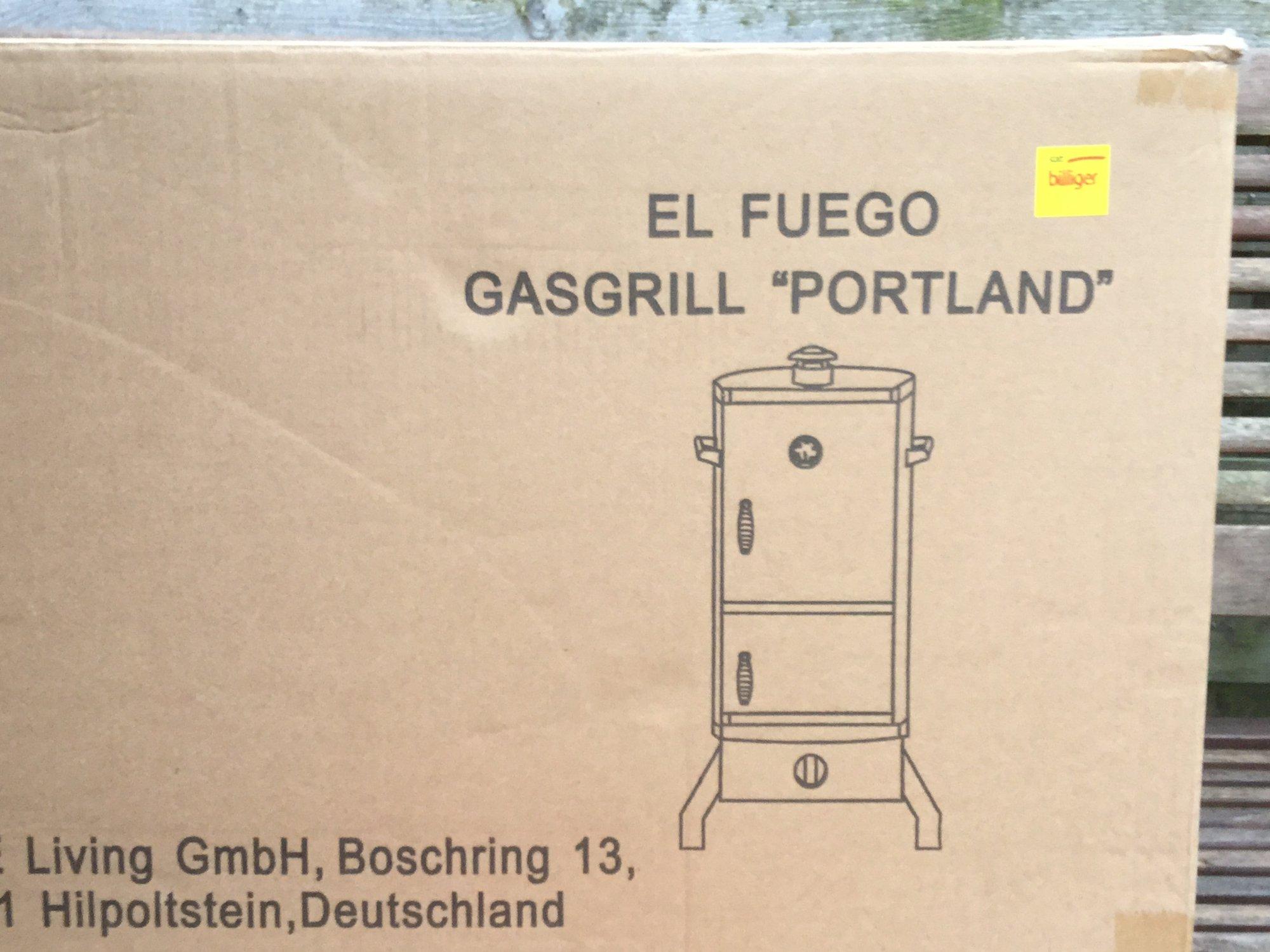 Landmann Gasgrill Famila : El fuego portland gasgrill seite 188 grillforum und bbq www