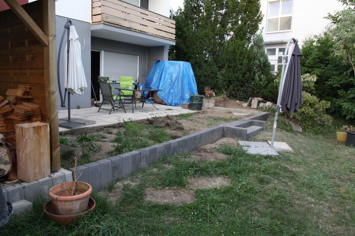 Außenküche Mit University : Aussenküche mit santos gasgrill und ramster im bau