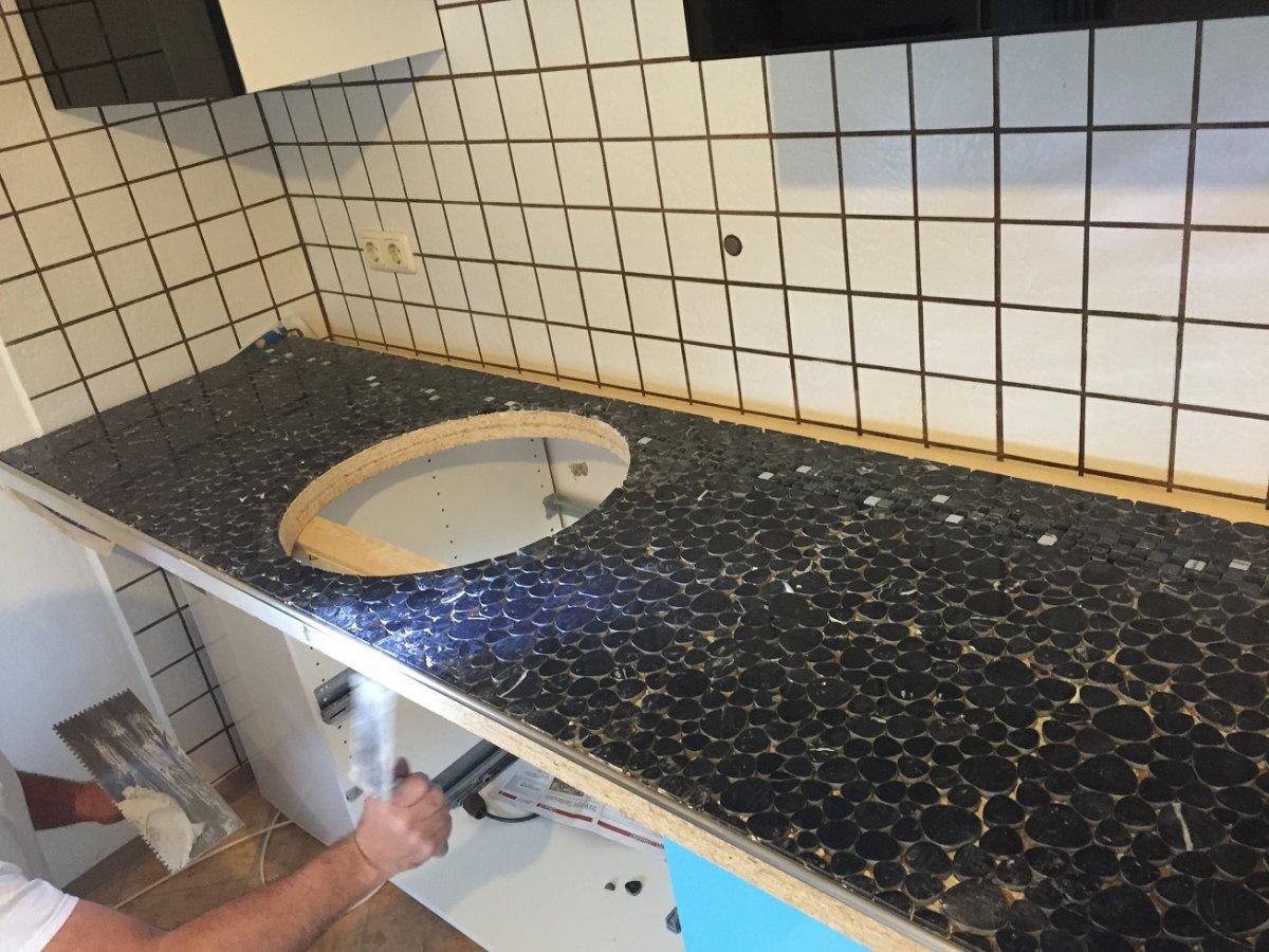 Arbeitsplatte für Outdoorküche | Grillforum und BBQ - www ...