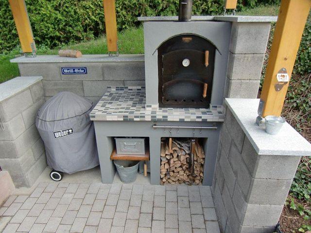 Außenküche Mit Holzbackofen : Außenküche mit holzbackofen außenküche mit holzbackofen
