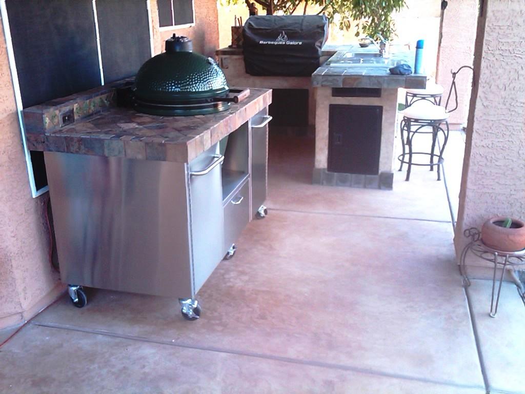 Platte Für Außenküche : Frage zur arbeitsplatte außenküche grillforum und bbq