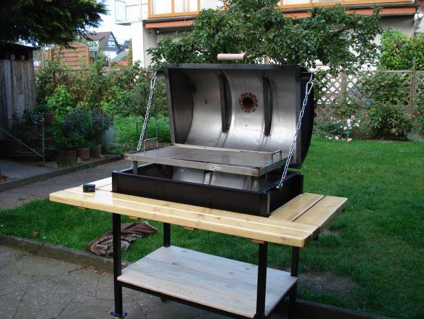 eigenbau ollen tonnen grill grillforum und bbq. Black Bedroom Furniture Sets. Home Design Ideas