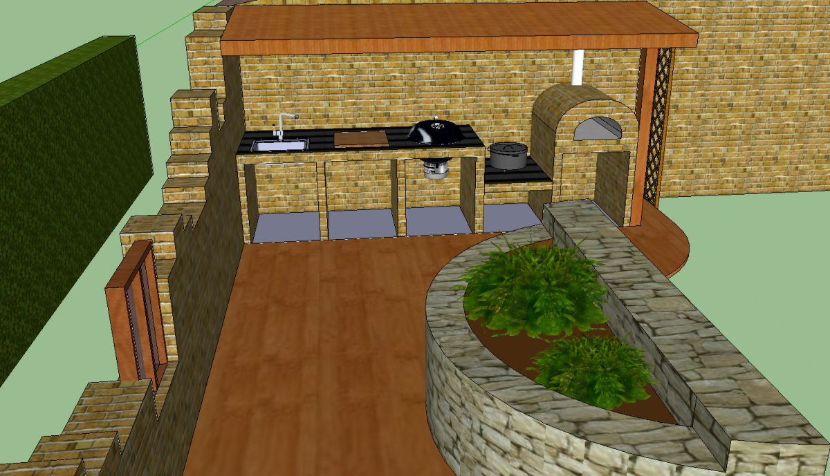 outdoork che mit holzkohle grillforum und bbq. Black Bedroom Furniture Sets. Home Design Ideas