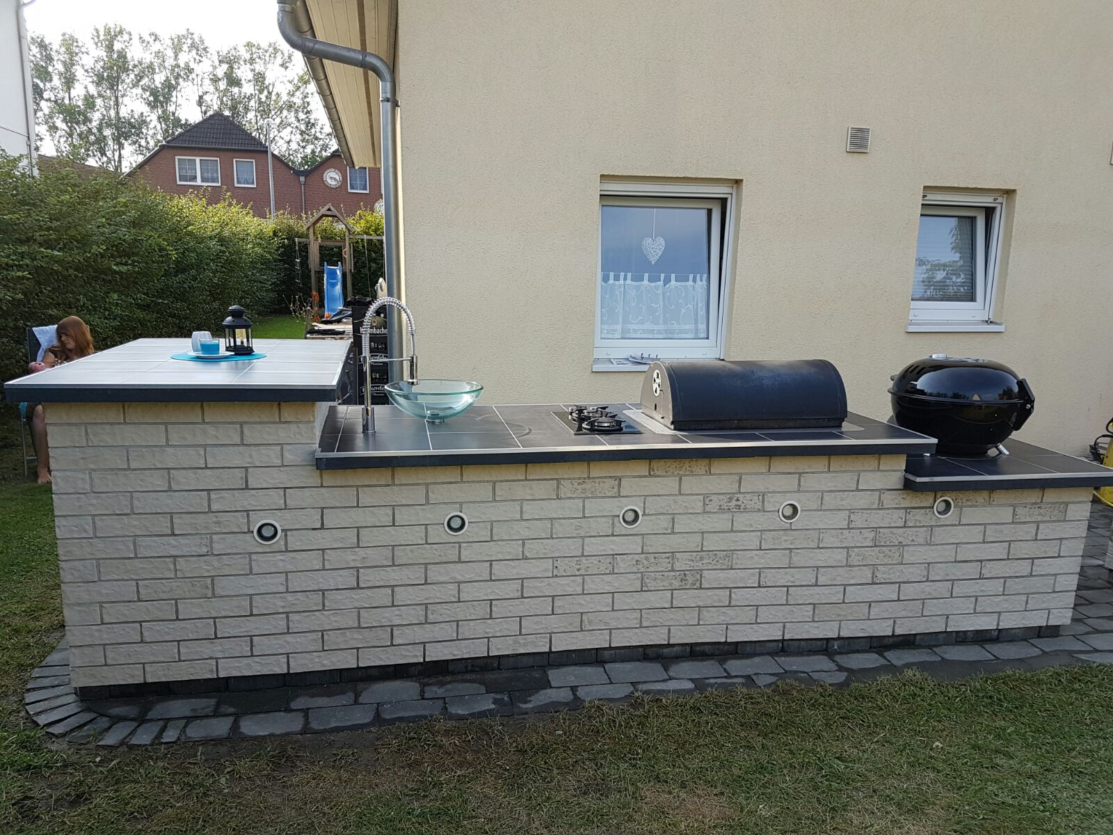Kochfeld Für Außenküche : Diy außenküche grillforum und bbq grillsportverein