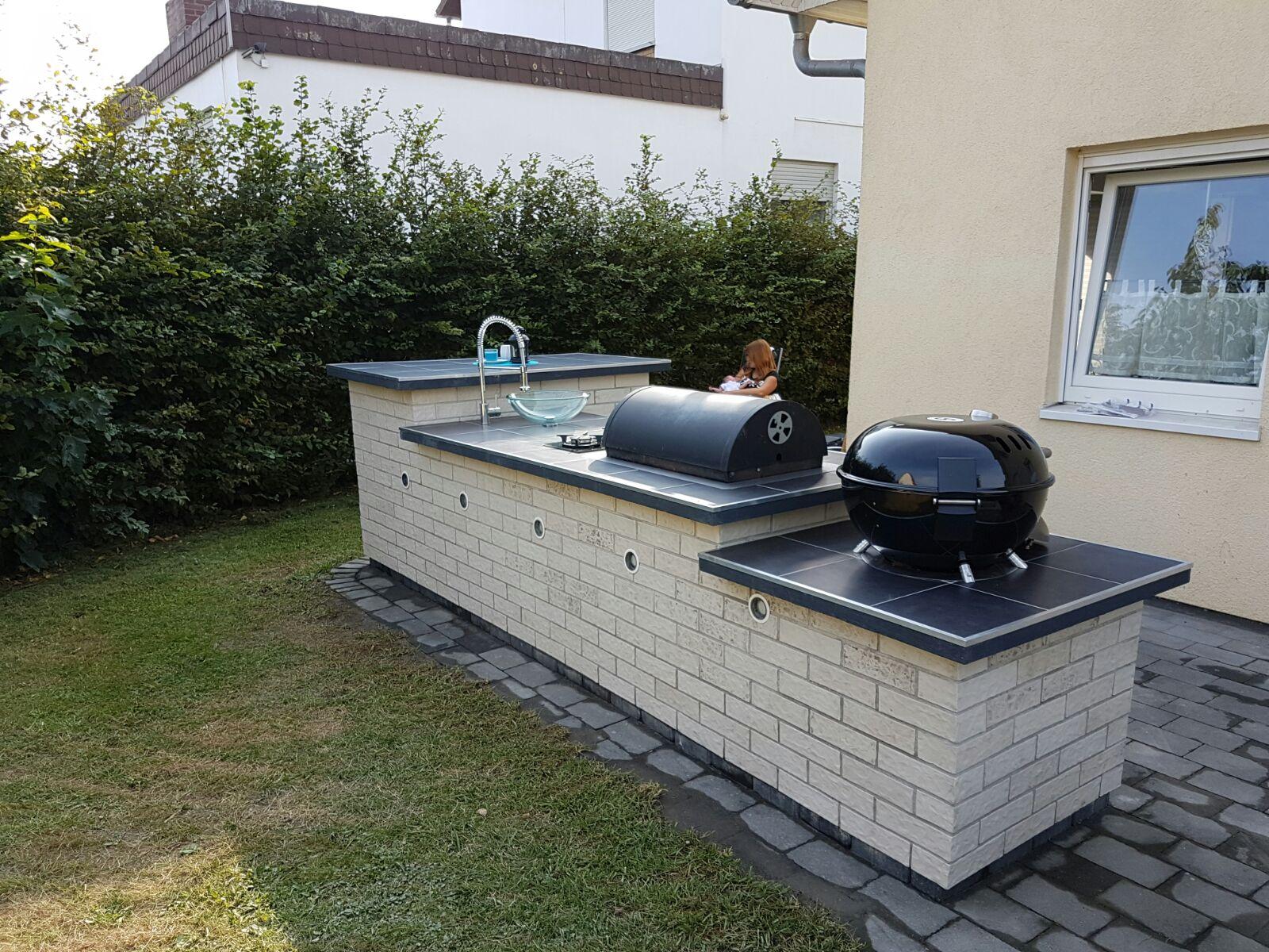 Aussenküche Gemauert diy außenküche grillforum und bbq grillsportverein de