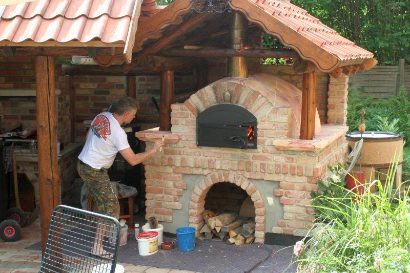 Außenküche Mit Holzbackofen : Aussenküche mit holzbackofen outdoorküche mit holzbackofen