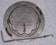 Waffeleisen Für Gasgrill : Waffeln mit altem waffeleisen auf dem ascona grillforum und bbq