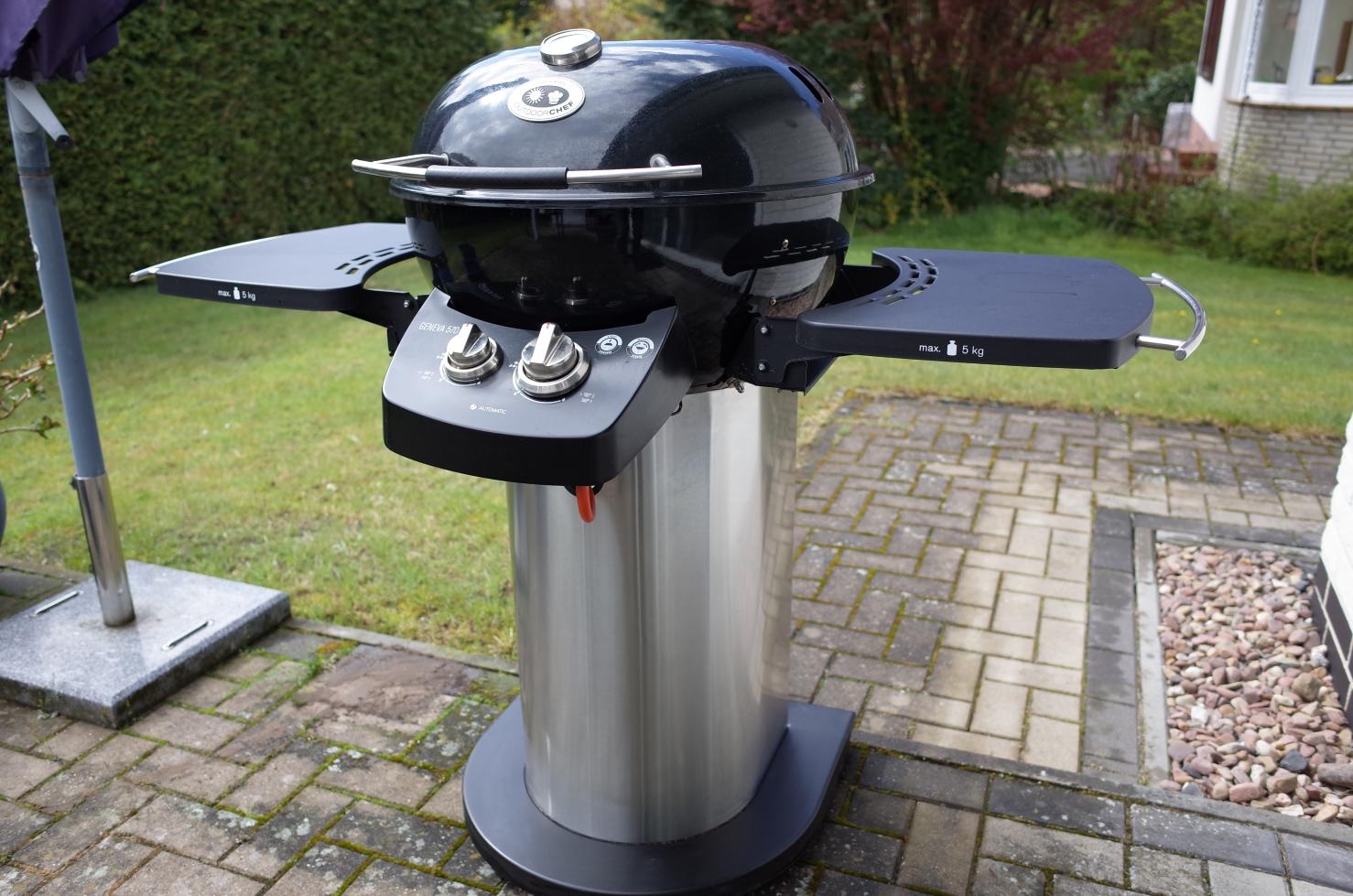 [Verkauft] - Outdoorchef Geneva Gaskugelgrill | Grillforum