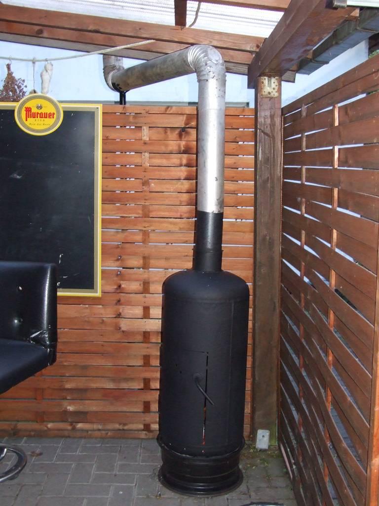 Outdoor Terrassenofen Fur Unterm Dach Grillforum Und Bbq Www
