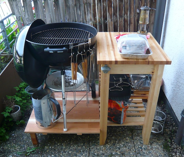 grilltisch f r 57er mit ikea bekv m grillforum und bbq. Black Bedroom Furniture Sets. Home Design Ideas