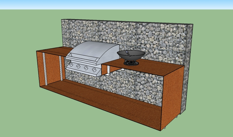 Outdoor Küche Planen : Built in für kleine outdoorküche gesucht grillforum und bbq